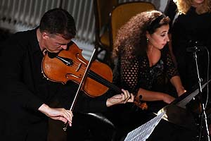 In concert with Milana Chernyavska