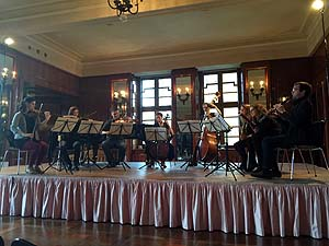 General rehearsal Schubert octet
